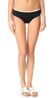 Плавки бикини с низкой талией Plage Du Midi Kate Spade New York