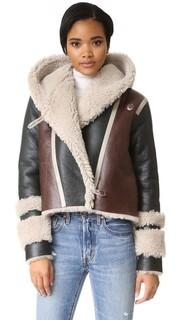 Куртка Hilda из короткой шерсти Veda