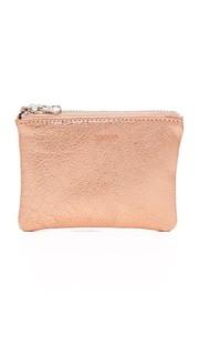 Миниатюрный плоский кошелек для монет Baggu