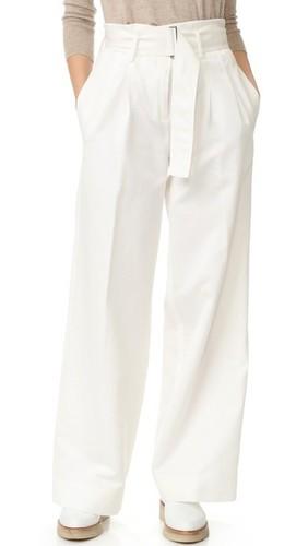 Широкие брюки PURE DKNY с поясом
