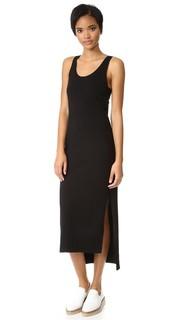 Платье без рукавов с боковыми разрезами Dkny
