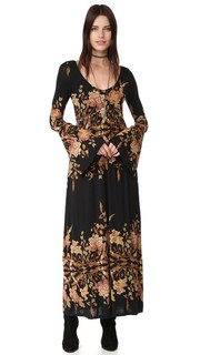 Миди-платье Midnight Garden Free People