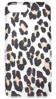 Прозрачный чехол для iPhone 7 Plus с леопардовым принтом Kate Spade New York