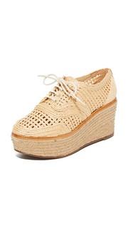 Ботинки на шнурках на платформе Jules Schutz