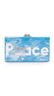 Клатч Jean Peace Love Edie Parker