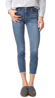 Укороченные джинсы-скинни Newton с необработанным низом Mc Guire Denim