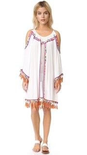Пляжное платье с открытыми плечами Pia Pauro