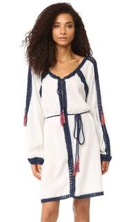 Богемное мини-платье Nomad Anna Kosturova