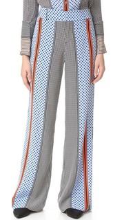 Широкие пижамные брюки Derek Lam 10 Crosby