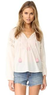 Блуза Lou в деревенском стиле Loveshackfancy