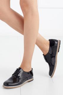 Ботинки из лакированной кожи AGL