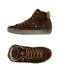 Низкие кеды и кроссовки Leather Crown