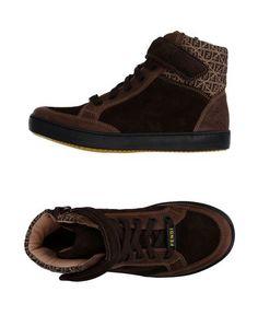 Высокие кеды и кроссовки Fendi