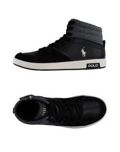 Высокие кеды и кроссовки Ralph Lauren