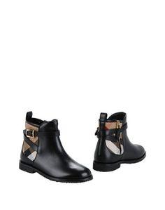 Полусапоги и высокие ботинки Burberry Children
