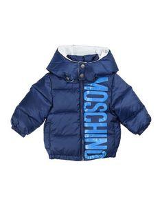 Пуховик Moschino Baby
