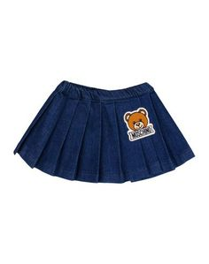 Джинсовая юбка Moschino Baby