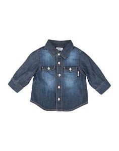 Джинсовая рубашка Moschino Baby