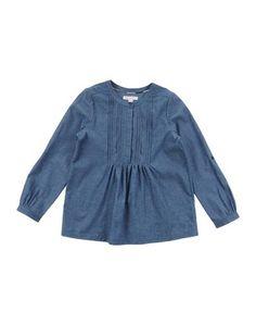 Джинсовая рубашка Burberry Children
