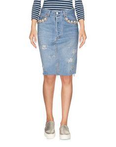 Джинсовая юбка Forte Couture