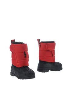 Полусапоги и высокие ботинки Ralph Lauren