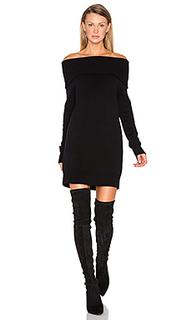 Платье с открытыми плечами cashwool - T by Alexander Wang
