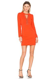Платье с длинным рукавом и вырезом-капля - IKKS Paris