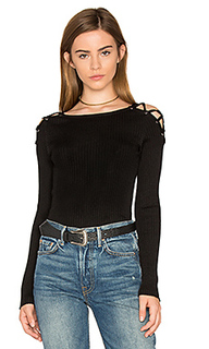 Criss cross shoulder sweater - 1. STATE