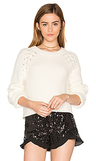 Lace up shoulder sweater - 1. STATE
