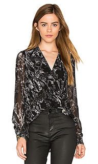 Drape front blouse - 1. STATE