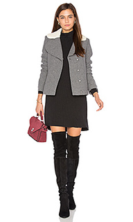 Leonor faux sherpa lined coat - ba&sh Ba&Sh