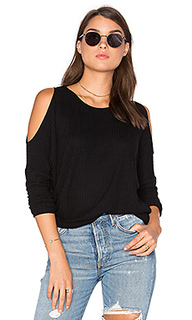 Cold shoulder dolman thermal tee - Chaser