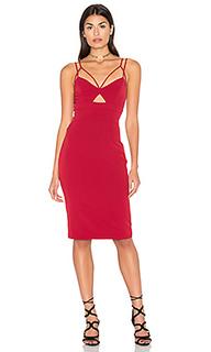 Платье миди cutaway - Bardot