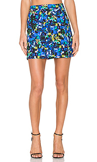 Jewel modern mini skirt - MILLY