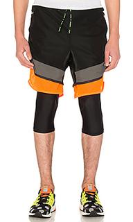 X kolor film yarn shorts - Adidas