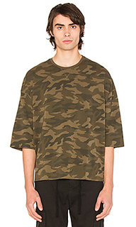 Camo washed oversized tee - Stampd