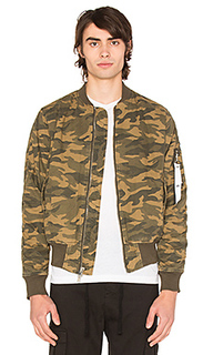 Camo washed bomber - Stampd
