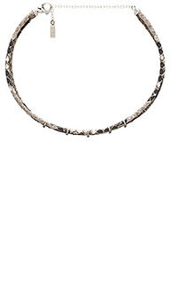 Gwen snake skin choker - Natalie B Jewelry