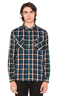 Фланелевая рубашка на пуговицах taylor - Huf