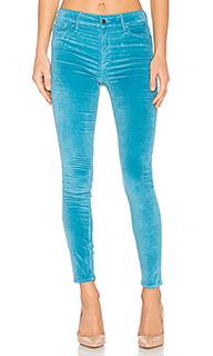 Облегающие джинсы с высокой посадкой - Frankie