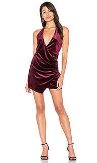 Atlantic city velvet mini dress - LIONESS