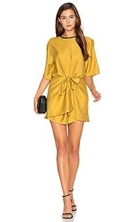 Мини платье с запахом abel - PFEIFFER