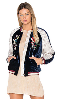Floral embroidered bomber - Free People