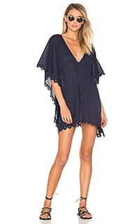 Платье в восточном стиле с вышивкой кроше - Seafolly