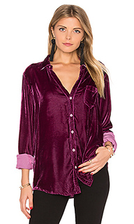 Sloane velvet button up - CP SHADES