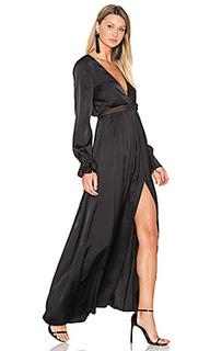 Макси платье olivia - THE JETSET DIARIES