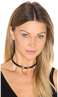 Syd snake skin choker - Natalie B Jewelry
