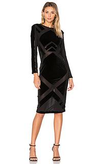 Velvet burnout dress - KENDALL + KYLIE