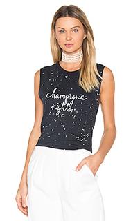 Обрезанная майка champagne nights - TYLER JACOBS