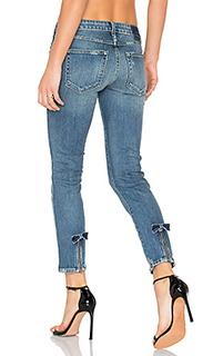 Прямые джинсы bow - AMO